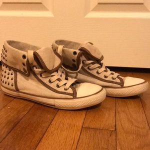 Aldo Studded High Top Sneakers